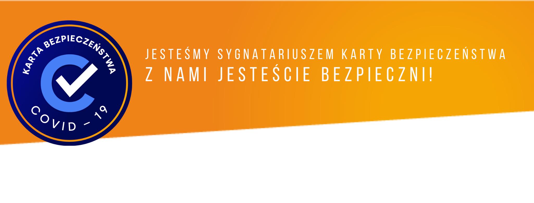 Serwis TwojaJurata.pl sygnatariuszem Karty Bezpieczeństwa COVID-19. Wyjaśniamy, co to jest Karta Bezpieczeństwa COVID-19.