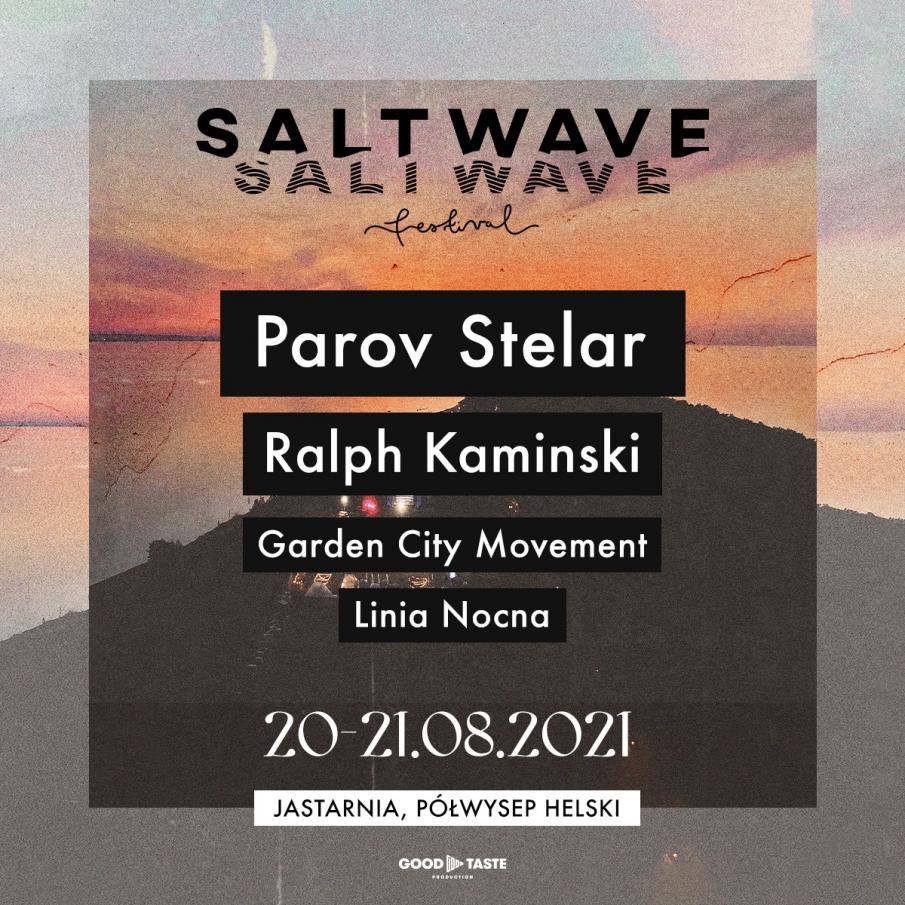 Salt Wave Festival 2021. Koncert Jastarnia. Line up i sprzedaż biletów.