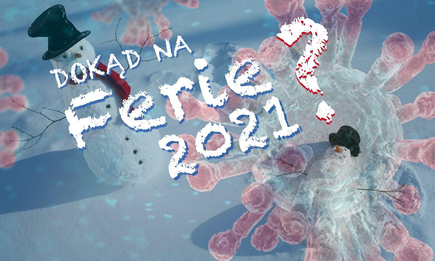 Ferie 2021 w czasie pandemii. Dokąd wyjechać zimą na ferie, w góry czy nad morze?